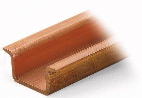 Kupfer-Tragschiene  ungelocht
