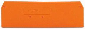 Abschlussplatte orange