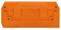 Abschlußplatte orange
