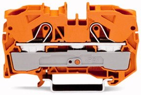 2-Leiter-Durchgangsklemme und
