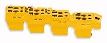 Stecker Serie 753 gelb