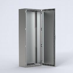EKSS Stainless steel compact version, single door enclosure
