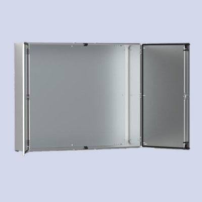 Wall-mounting case double door