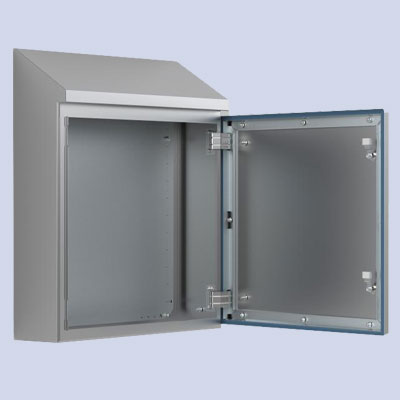 Wall-mounting case, Hygenic Design