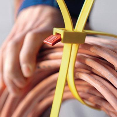 Kabelbinder für besondere Anforderungen