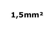 1.5mm²
