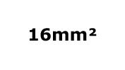16mm²