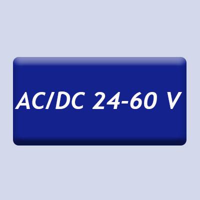 AC / DC 24 - 60 V