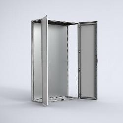 MCDS Stainless steel combinable version, double door enclosure