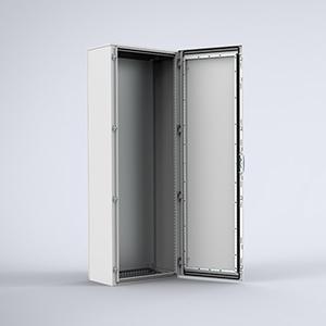 MKS Mild steel, single door, compact version