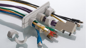 Splittable cable gland systems