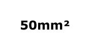 50mm²