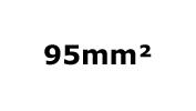 95mm²
