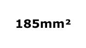 185mm²