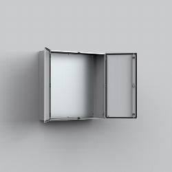 MAD Mild steel, double door enclosure