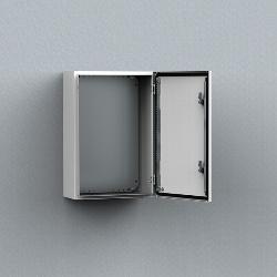 MAS Mild steel, single door enclosure