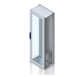 combinable version, single door enclosure glas