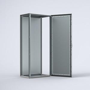 EMC combinable, single door enclosure
