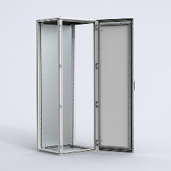 MCSS Stainless Steel combinable version, single door enclosure