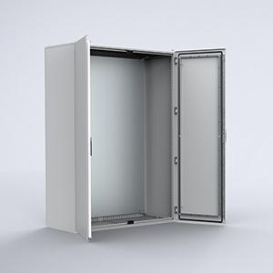 MKD Mild steel double door compact version