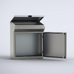 MPGS One-piece consoles in stainless steel